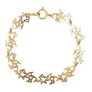 Chanel Jewelry - Gold Ultra Rare Cc Logo Choker Short Necklace